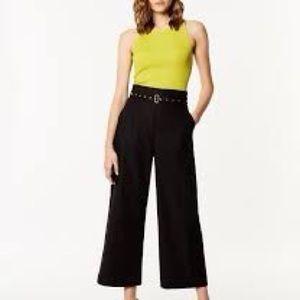 NWT Karen Millen belted utility trousers